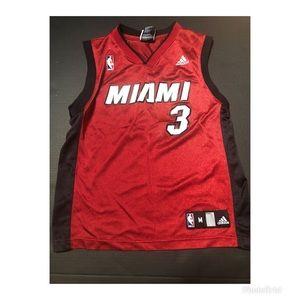 Dwayne Wade Miami Heat Adidas Youth Jersey Size M